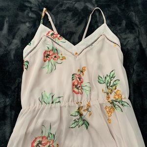 Sienna Sky: Long floral maxi dress